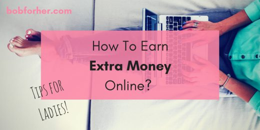 How To Earn Extra Money Online - Tips For Ladies!_ bobforher.com - twitter