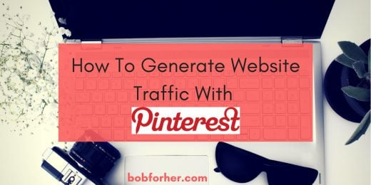 How to generate website traffic with Pinterest_ bobforher.com - twitter