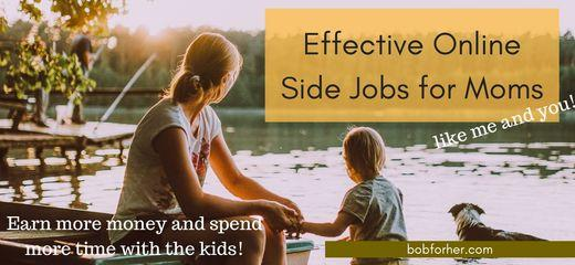 Side jobs for moms