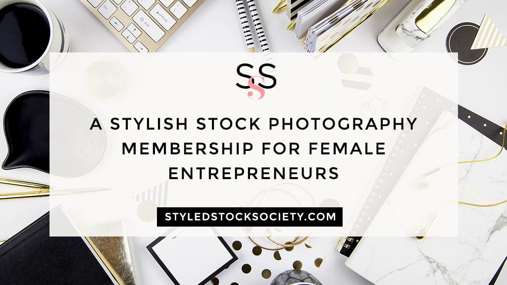 Styled stock society photographies for female entrepreneurs