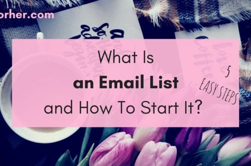 What Is an Email List and How To Start It? bobforher.com - twitter