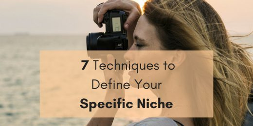 7 Techniques to Define Your Specific Niche - bobforher.com