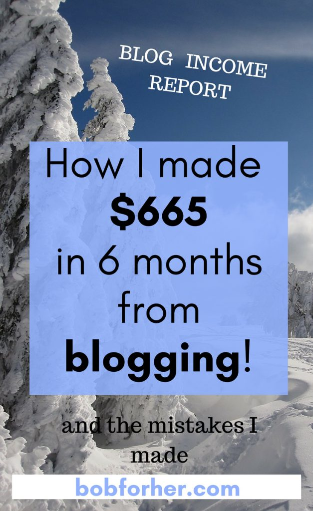How I made $665 in 6 months from blogging!! _ bobforher.com