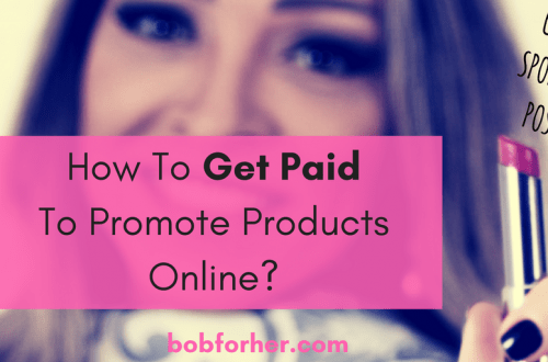 How To Get Paid To Promote Products Online? - bobforher.com - twitter