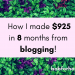 How I made $925 in 8 months from blogging! _ twitter_ bobforher.com