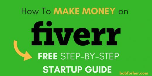 How to make money on Fiverr? Free step by step startup guide_ bobforher.com_ twitter