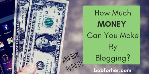 How Much MONEY Can You Make By Blogging