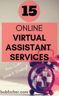 Top 15 Online Virtual Assistant Services You Can Start Today -bobforher.com