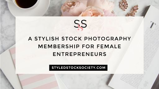 Stock photos for female blog