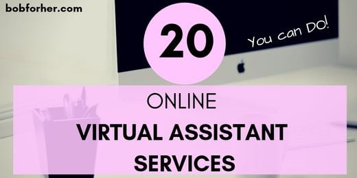 20 Online Virtual Assistant Services