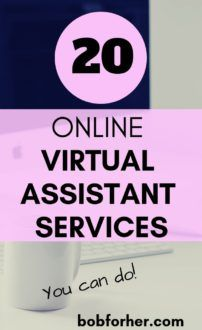 20 Online Virtual Assistant Services - bobforher.com