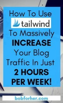 How to use Tailwind to increase blog traffic in just 2 hours per week