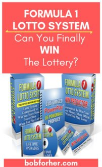 FORMULA 1 LOTTO SYSTEM Review bobforher.com