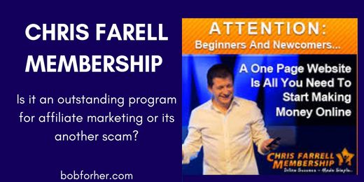 Is The Chris Farrell Membership a Scam?