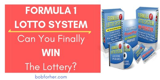 Formula 1 Lotto System Review_ bobforher.com