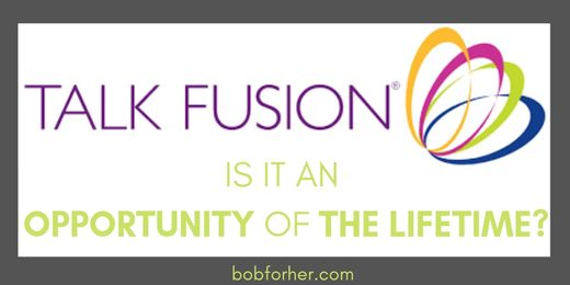 Should I join Talk Fusion _ bobforher.com - twitter