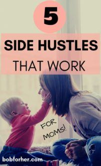 5 Successful Online Side Hustles That Work For Moms