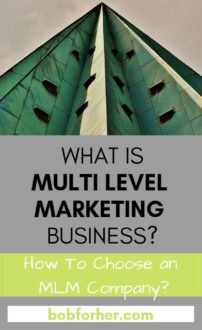 What Is Multi Level Marketing Business