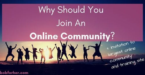 Why Should You Join An Online Community