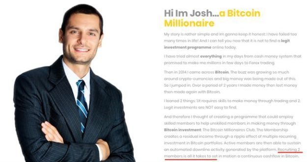 Bitcoin Millionaires Club – Be Aware Of The Scam | BOB for Her