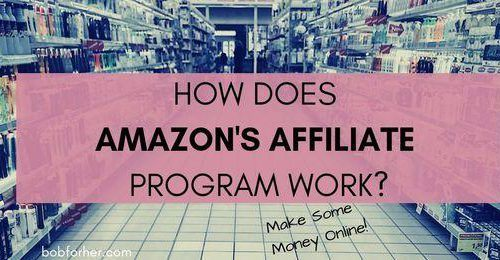 How Does Amazon affiliate program work