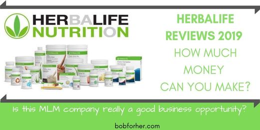 Herbalife Reviews 2019  How Much Money Can You Make? | BOB