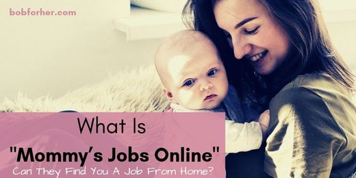 What Is Moms Jobs Online