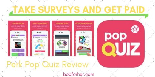 Perk Pop Quiz App Review