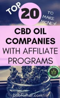 TOP 20 CBD Oil Companies With Affiliate Programs
