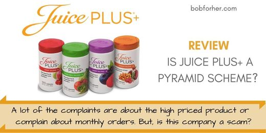 Is Juice Plus A Pyramid Scheme