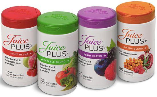 Jouice Plus products