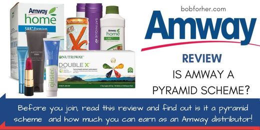 Is Amway a Pyramid scheme