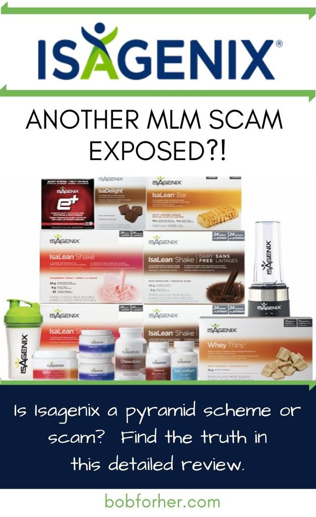 Is-Isagenix-a-Pyramid-scheme