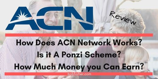 Is ACN a Ponzi scheme