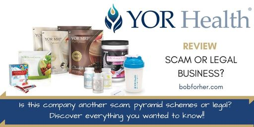 Is YOR Health a scam