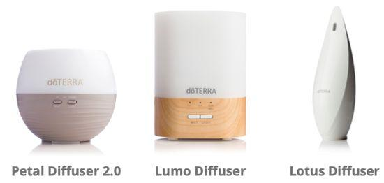 dpTerra Aromatic diffusers