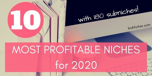 10 most profitable niches for 2020