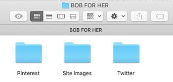 How to organize pictures for your blog
