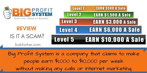 Is Big Profit System a scam
