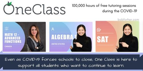 OneClass_ Free Tutoring Educational Program