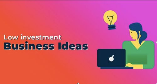 Low Investments business ideas