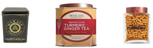 Wakaya turmeric products