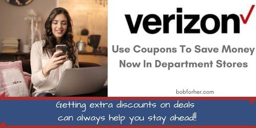 Verizon coupons to save money