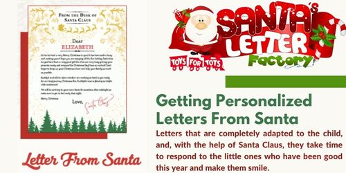 Getting personalized letters from Santa